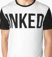 Inked - Black Graphic T-Shirt