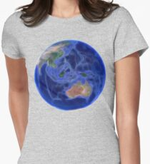 Planet Earth - Australia Womens Fitted T-Shirt