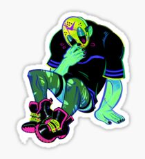 Lil Jason Sticker - Green  Sticker