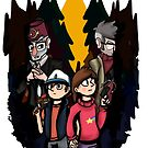 Gravity Falls - In the Pines by pklcha