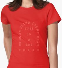 The Life of Pablo- Ultralight Beam Women's Fitted T-Shirt