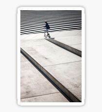 Street photo Sticker
