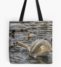 Domestic squabble Tote Bag