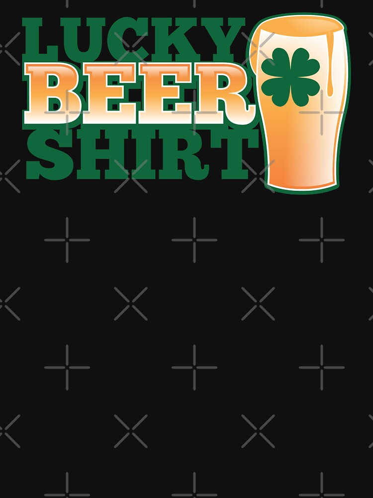 Lucky BEER shirt by jazzydevil