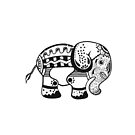 Tribal Elephant by rmcbuckeye