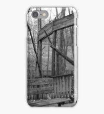 Derelict Fence iPhone Case/Skin