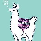 Aztec Alpaca - meh meh meh by Zoe Lathey