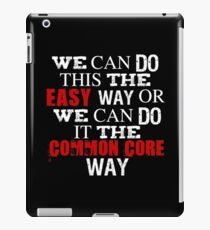 Common Core Humor iPad Case/Skin