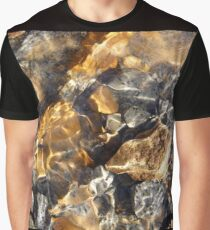 Rocks On The Beach Graphic T-Shirt
