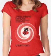 VERTIGO. HITCHCOCK Women's Fitted Scoop T-Shirt