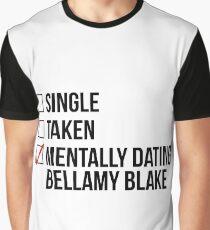 MENTALLY DATING BELLAMY BLAKE Graphic T-Shirt