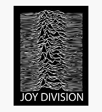 Joy Division W Photographic Print