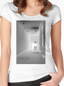 Ghosts of Light, Belgium Women's Fitted Scoop T-Shirt