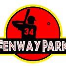 Fenway Park by monstahmash