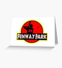 Fenway Park Greeting Card