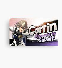 Corrin Chooses to Smash! Canvas Print