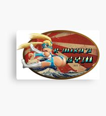 Street Fighter V  R-Mika's Gym Canvas Print
