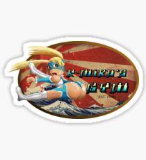 Street Fighter V  R-Mika's Gym Sticker