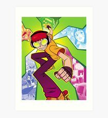 Jet Set Radio Art Print
