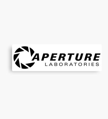 Portal Aperture Science Logo Canvas Print