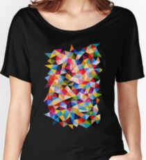 Space Shapes Women's Relaxed Fit T-Shirt