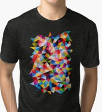 Space Shapes Tri-blend T-Shirt