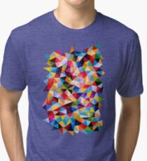 Space Shapes Tri-blend T-Shirt