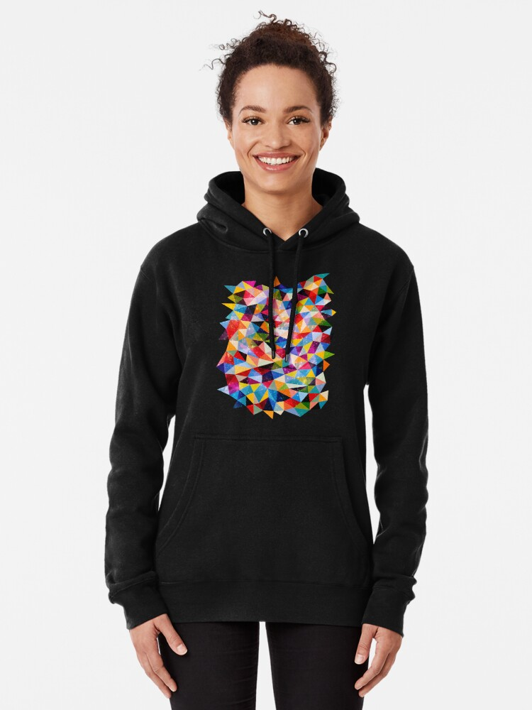 Alternate view of Space Shapes Pullover Hoodie
