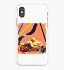 Acrylic motorcycle exhaust iPhone Case