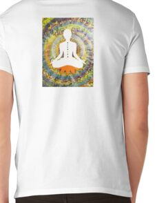 Oneness Meditation Mens V-Neck T-Shirt