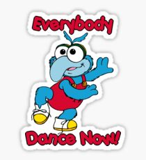 Muppet Babies - Gonzo 01 - Everybody Dance Now Sticker