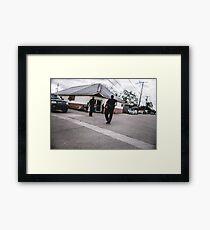 Street Cops Framed Print