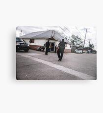 Street Cops Metal Print