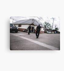 Street Cops Canvas Print