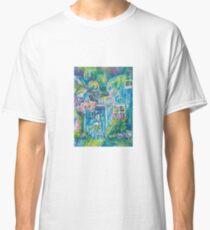 A Gardening Angel Watercolor Classic T-Shirt