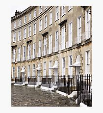 Cavendish Crescent, Bath Photographic Print