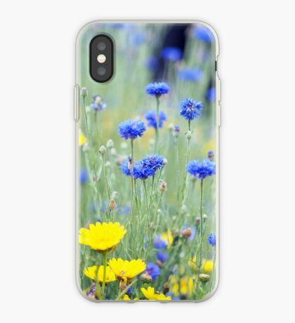 Cornflowers and Daisies iPhone Case