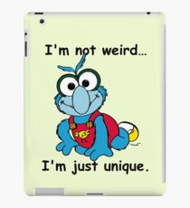Muppet Babies - Gonzo 02 - I'm Not Weird... iPad Case/Skin
