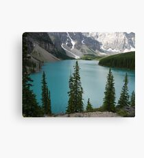 Canadian Rockies Canvas Print