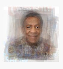 Bill Cosby Portrait Photographic Print