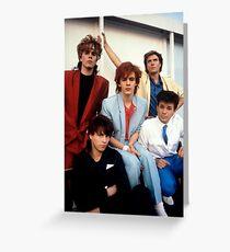Vintage Duran Duran Greeting Card