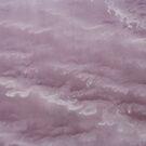 Waves of pink salt - Lake Eyre - South Australia by Norman Repacholi