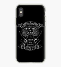 Better in Black iPhone Case
