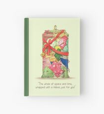 The best present in all of space and time Hardcover Journal