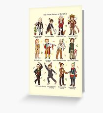 Doctor Who Christmas Cards.Doctor Who Greeting Cards Redbubble