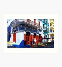 Old San Juan Art Print
