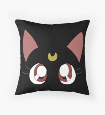 Sailormoon - Luna Throw Pillow