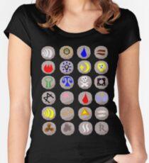 Runes --- Runescape Women's Fitted Scoop T-Shirt