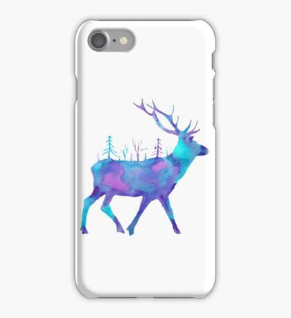 Moving forest iPhone Case/Skin