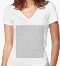 Napoleon Dynamite Script Women's Fitted V-Neck T-Shirt